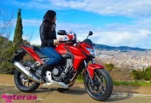 honda cb500f, honda cb, moto para ciudad, moto bajita, moto para mujeres bajitas. mujeres moteras