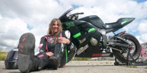 Trofeo RACE Femenino de Velocidad, sara roman, piloto femenina, motociclismo femenino, categoría femenina motociclismo, mujeres moteras