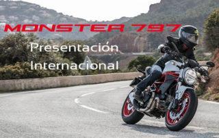 ducati monster 797 presentacion internacional