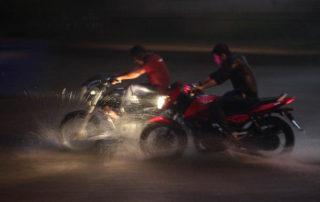 mejor piloto moto lluvia nieve
