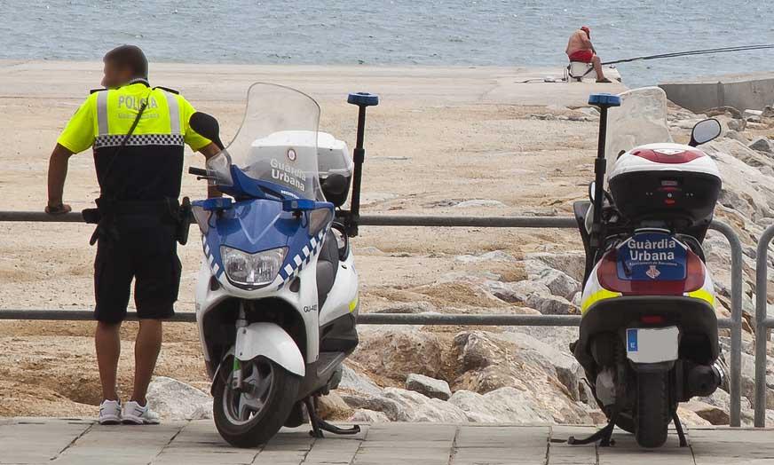 Guardia Urbana de Barcelona: un muy mal ejemplo para el motero