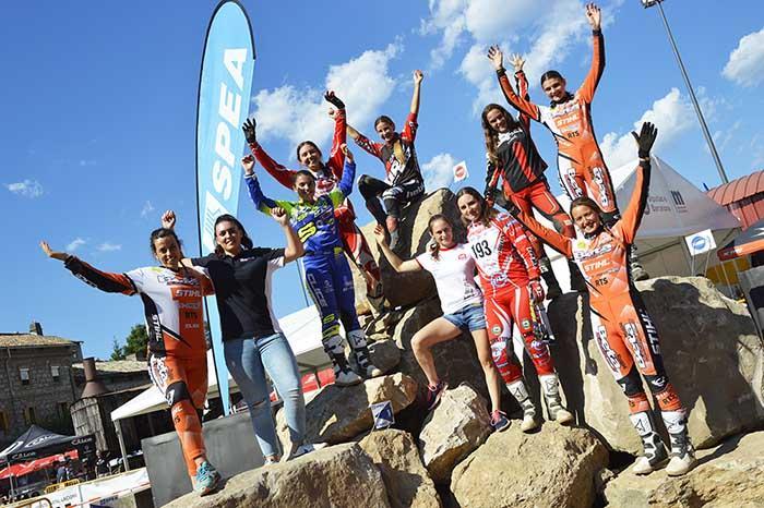 Campeonato de España de Trial mujeres moteras