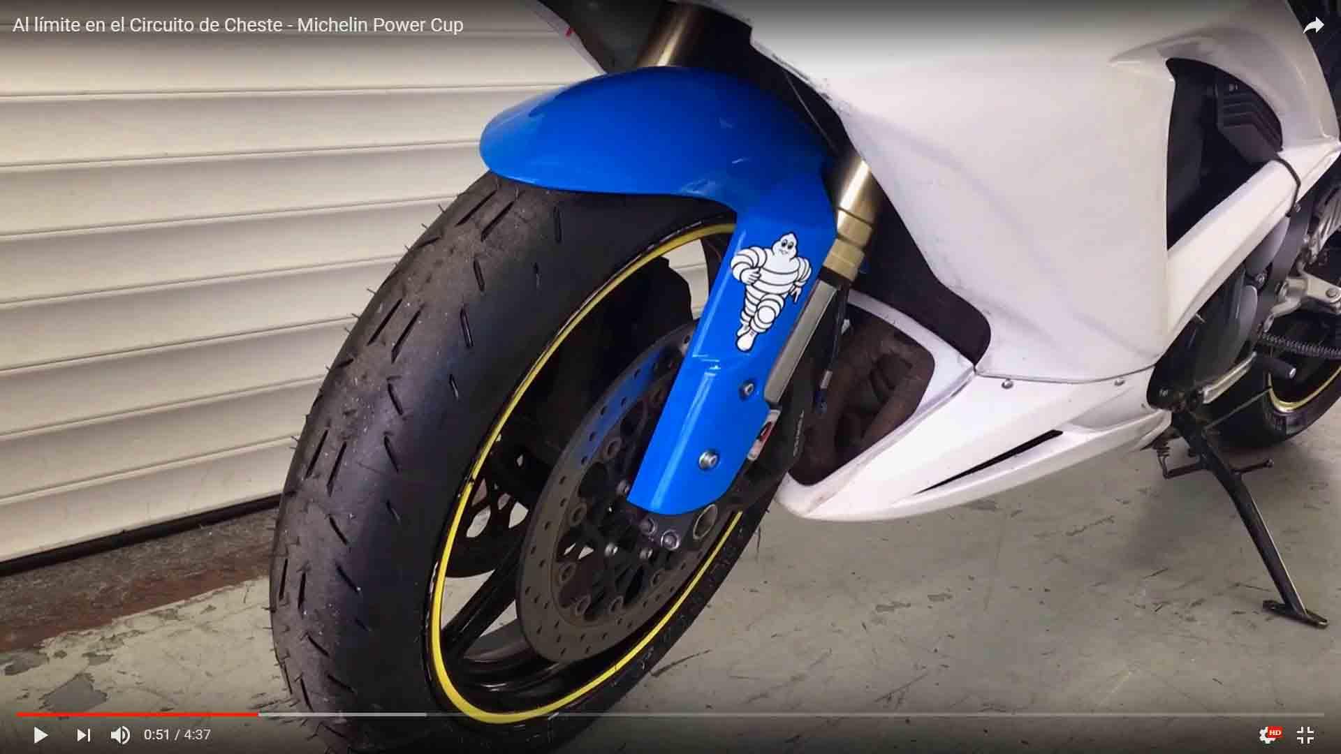 Michelin Power Cup Evo, neumáticos de circuito