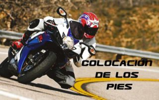 los pies en la moto formación, curso de conducción