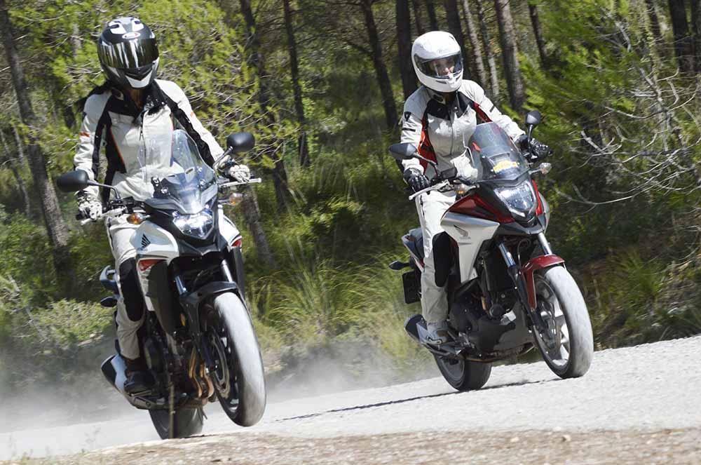motos adventure honda nc750x cb500x