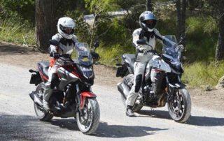 motos adventure nc750x cb500x