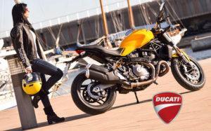 ducati monster 821 biker girl, mujeres moteras, motorcycle girl
