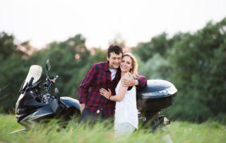 Viaje en pareja en moto para San Valentín