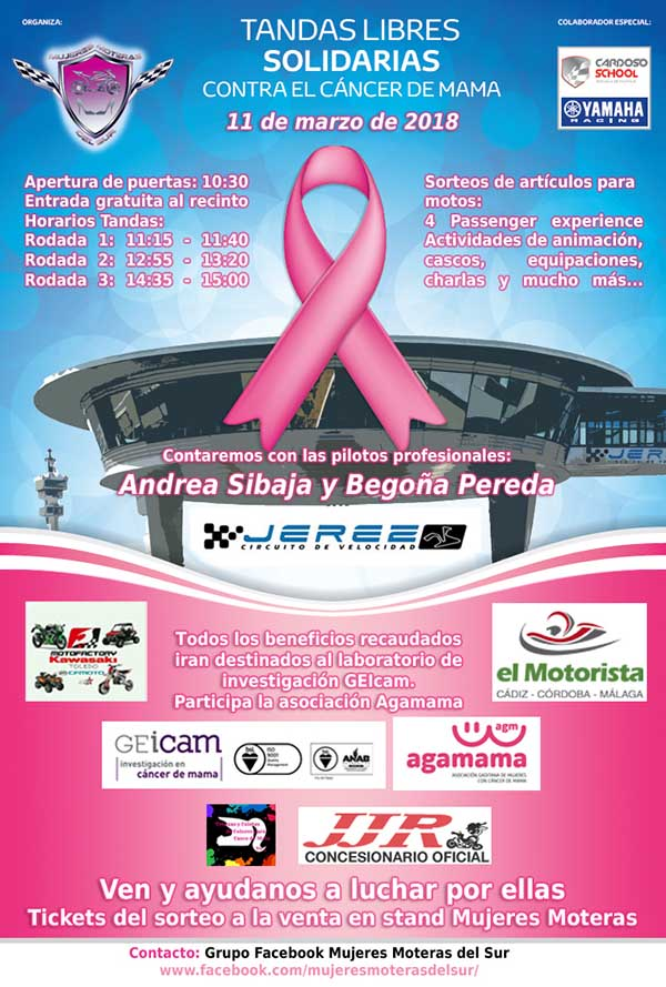 rodada solidaria cancer de mama 2018