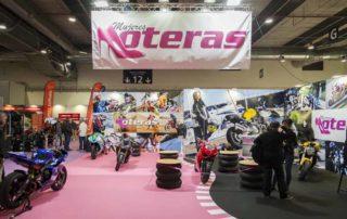 exito de vive la moto 2018, salón de la moto, mujeres moteras, exposicion motos, sara roman, bea eguiraun, adrianapm, vespark