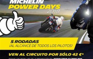 michelin power days 2018, rodada circuito, tandas circuito, tandas circuito baratas, michelin power RS, michelin slick evo, michelin pilot power 3, michelin cup evo
