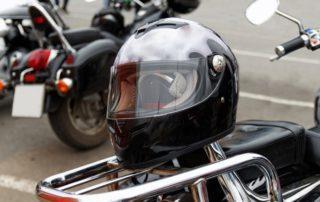 El mantenimiento del casco de la moto
