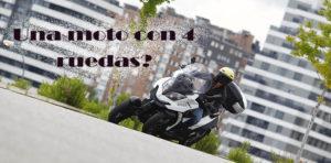 Quadro Qooder, sooter, movilidad urbana, moto con 4 ruedas, moto rara