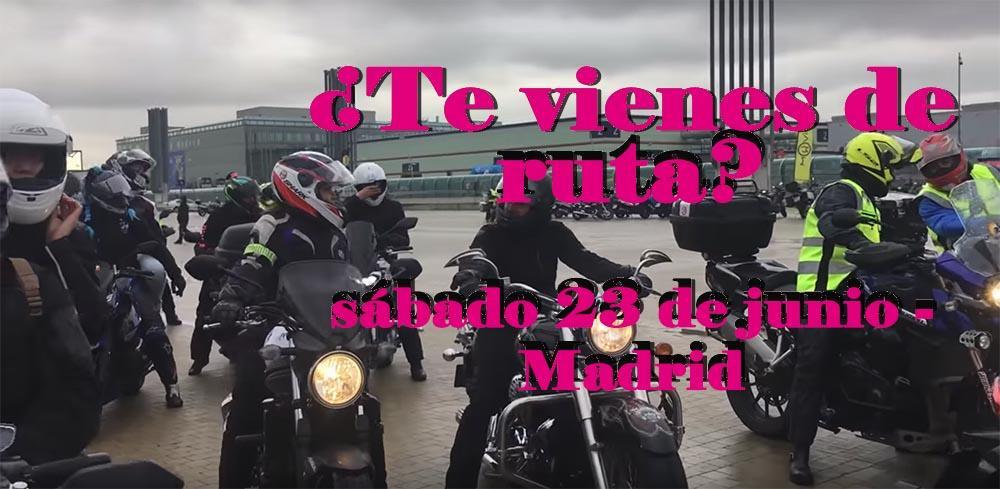 ruta de Mujeres Moteras, ruta de mujeres moteas mulafest, ruta motera, salida en moto, salida mujeres moteras, festival alternativo,