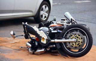 Accidente en moto: qué hacer