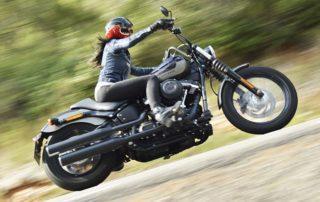 harley davidson street bob, harley style, bobber, custom biker, custom girl, american motorcycle