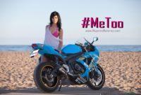 machismo en el motociclismo metoo, mujeres moteras, discriminación, acoso mujer, discriminación femenina, fotos chicas en moto, moteras sexy, motos para mujeres, #metoo, #nimediabroma