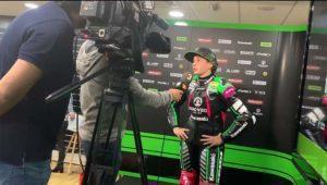 piloto ana carrasco, piloto ssbk300, piloto mujer, primera mujer en ganar, kawasaki provec racing team