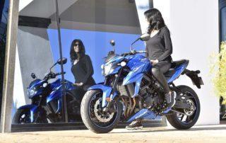 suzuki gsx 750s, estética y caracteristicas, moto nacked A2, moto para mujeres bajitas, moto A2 ligera