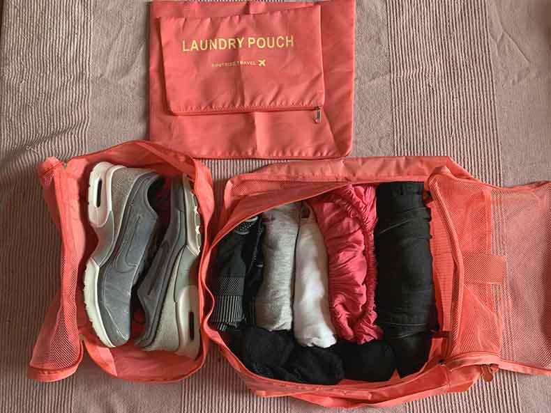 bolsas organizadoras de equipaje