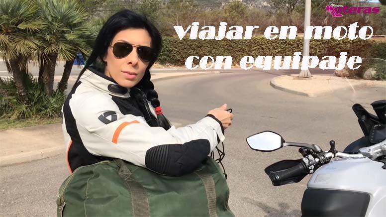 viajar en moto con equipaje de xlmoto