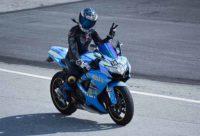 primera vez rodada en circuito moto