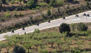 primera ruta en moto después del confinamiento
