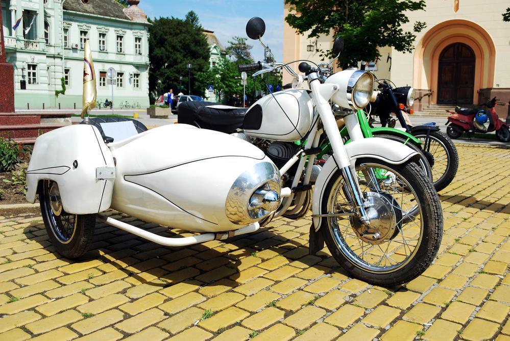motocicletas con sidecar