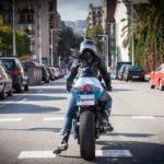 los accidentes en moto más comunes y como evitarlos
