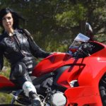 Mono de moto mujer