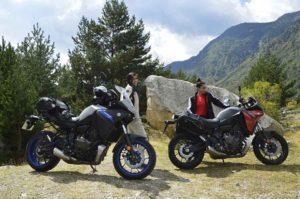 Yamaha Tracer 700, Telva y Berta Doria Mujeres Moteras