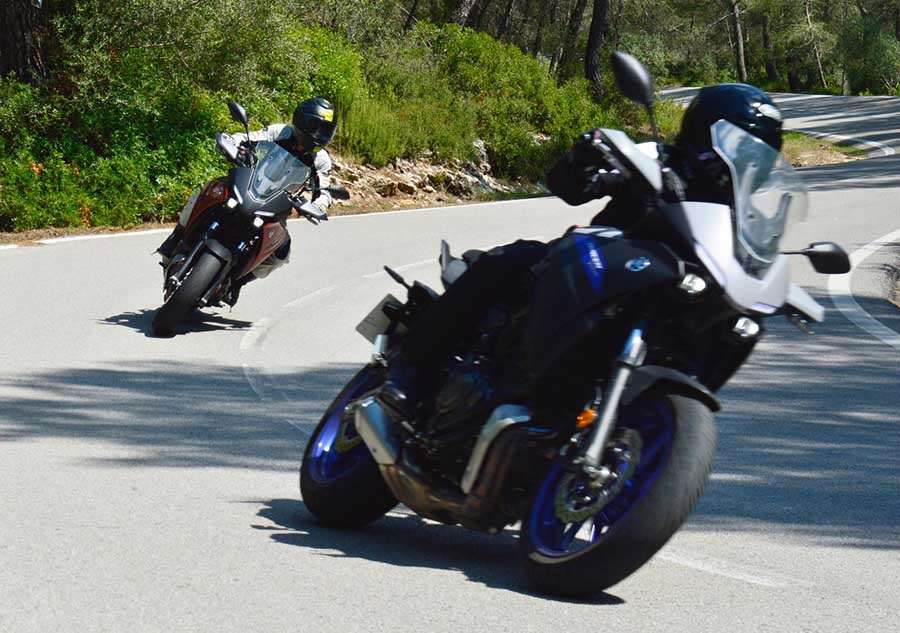 Yamaha Tracer 700 review completa