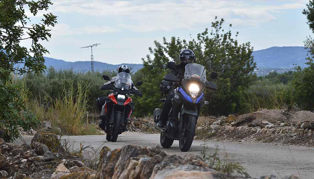 Suzuki VStrom 1050 XT y Suzuki Vstrom 650 XT