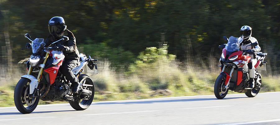 BMW F900R y BMW S1000XR, motos bmw prueba a fondo