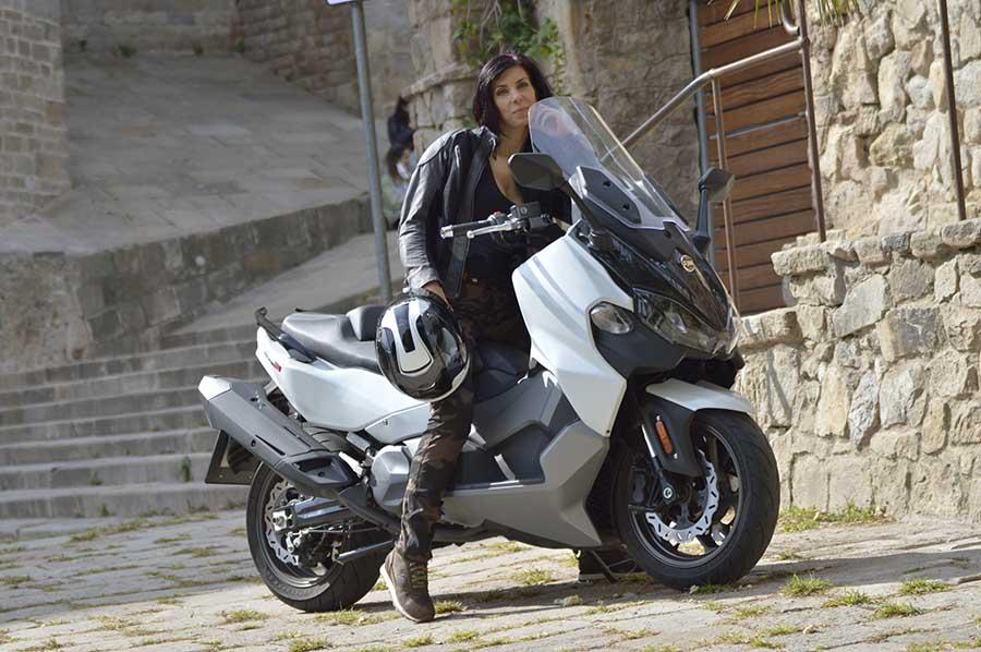 Maxyscooter Sym Maxsym TL 500 cc