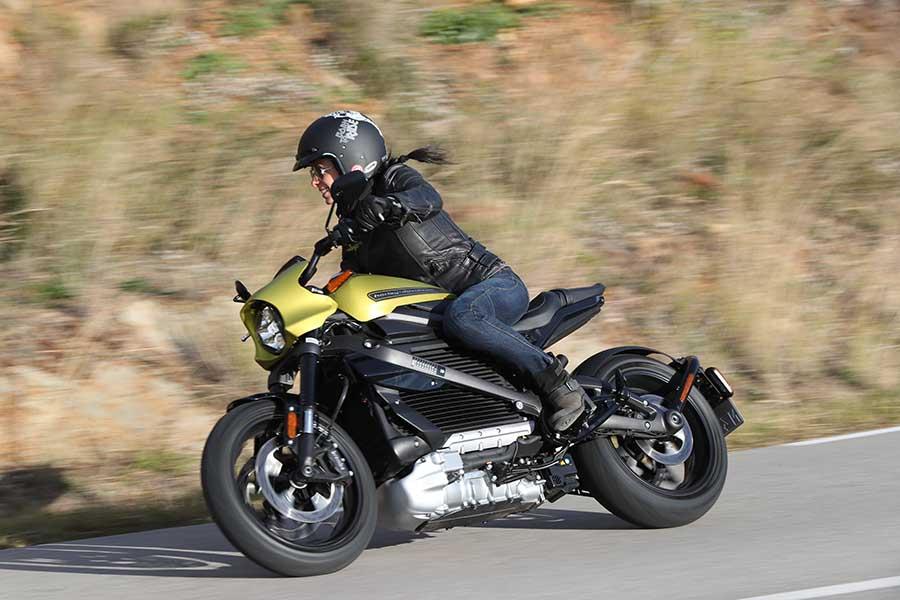 Harley Davidson LifeWire electrica, prueba completa de conducción