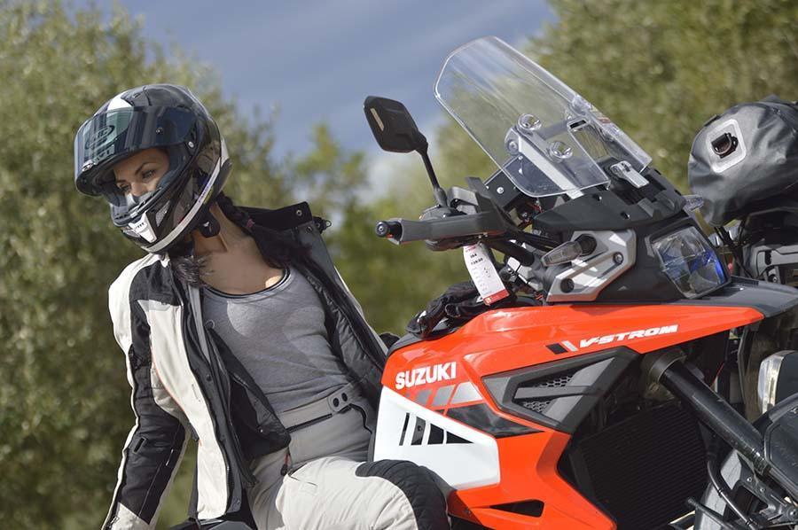 ropa de moto mujer