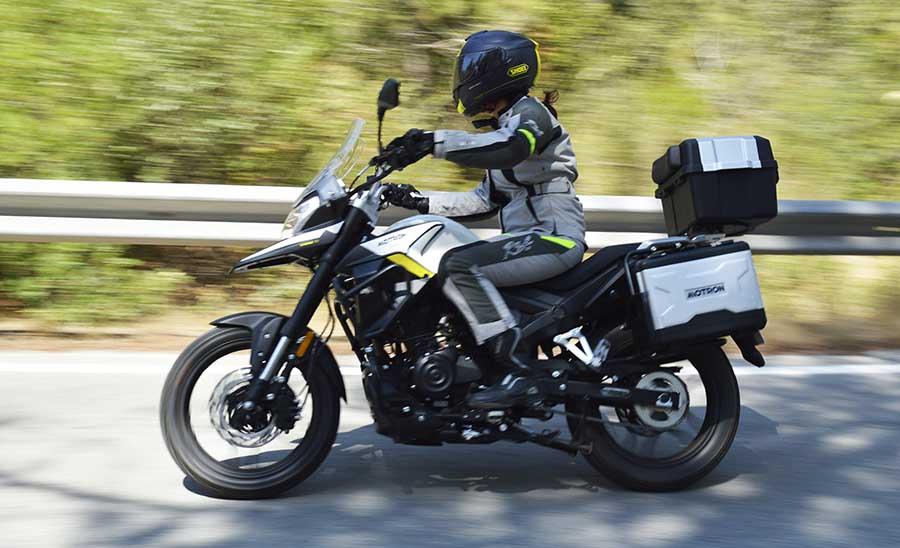 motron x nord 125, moto grupo ksr, trail 125