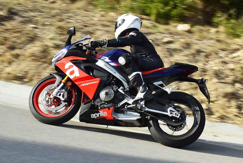 aprilia RS 660, review en carretera